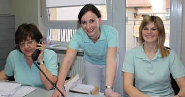 Team Krankenschwester Medizinische Fachangestellte